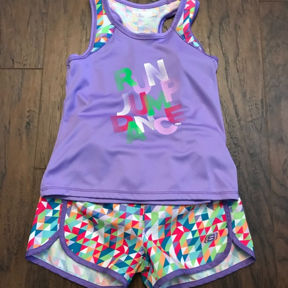 Girls Size 6 Run Jump Dance Athletic
